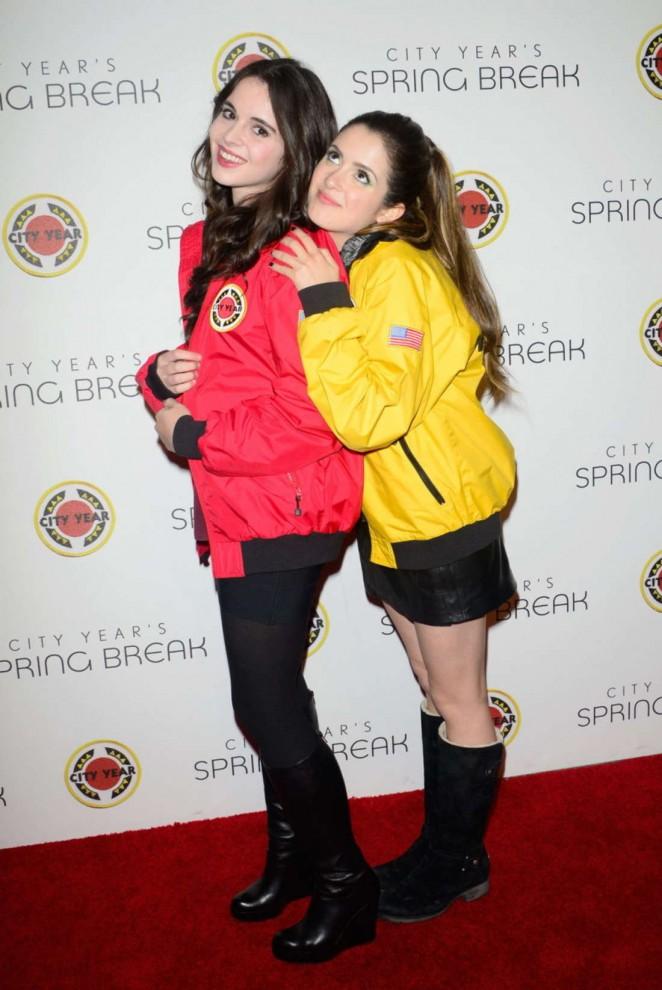 Vanessa and laura marano city year los angeles spring - Laura ashley madrid ...