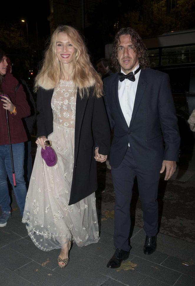 Vanessa Lorenzo - The Gala Sida Celebrated in Madrid