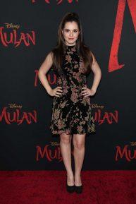 Vanessa Marano - 'Mulan' Premiere in Hollywood