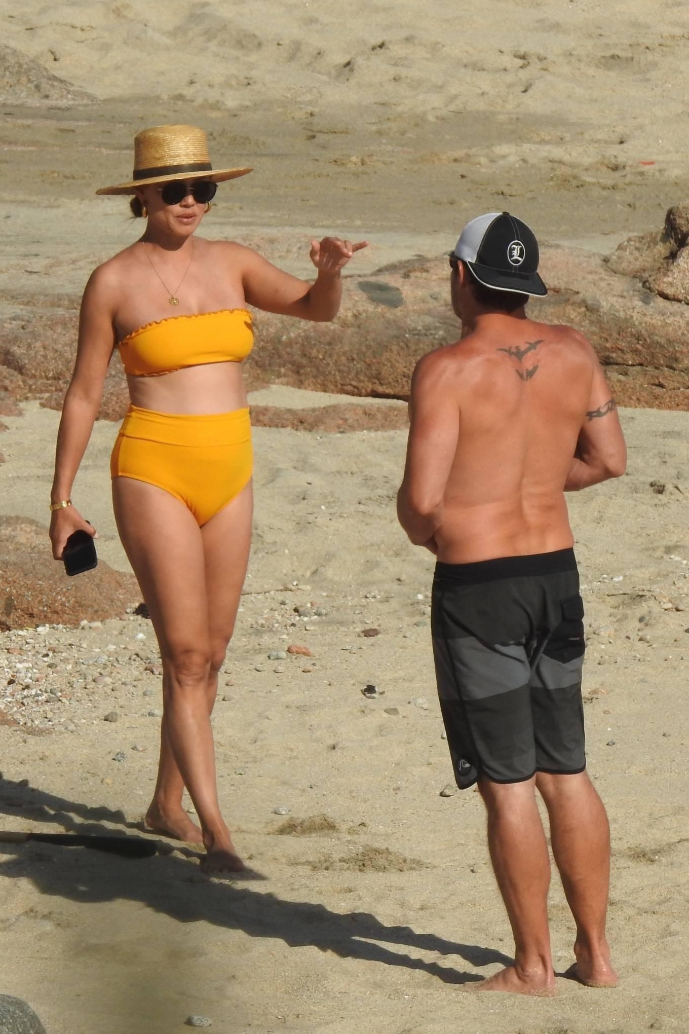 Vanessa Minnillo - On a beach in Cabo San Lucas