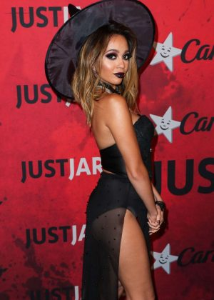Vanessa Morgan - Just Jared's 7th Annual Halloween Party in LA
