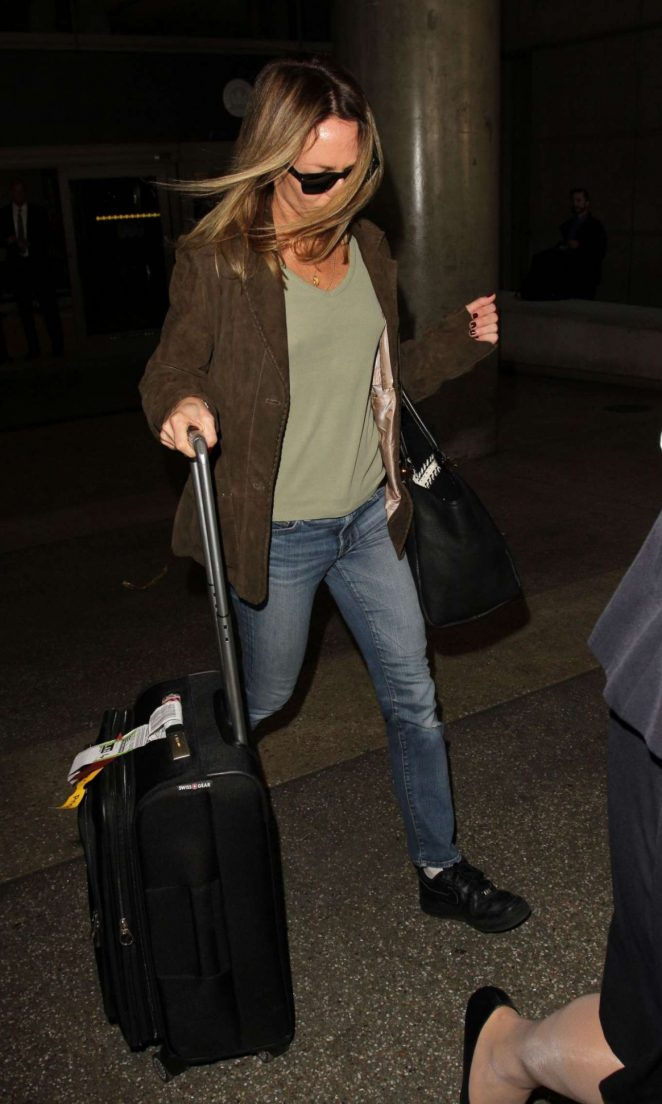 Vanessa Paradis - Arrives at LAX Airport in Los Angeles