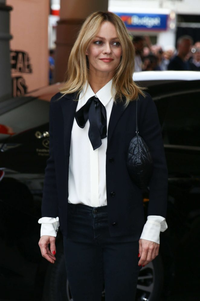 Vanessa Paradis - Arrives at Martinez Hotel in Cannes