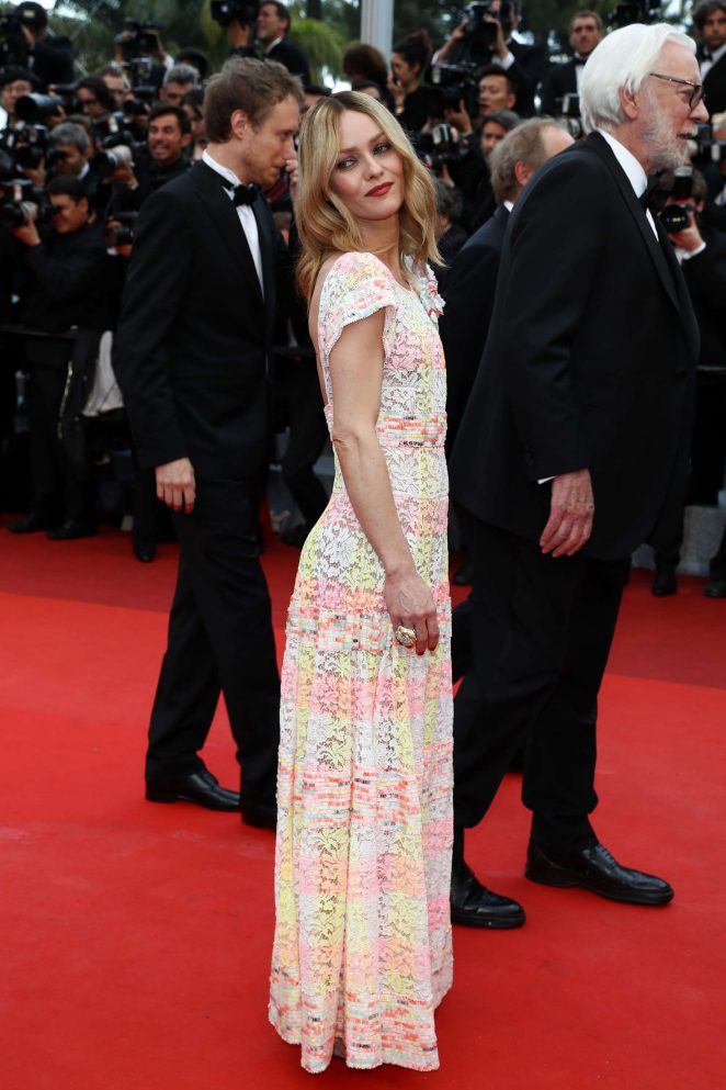 Vanessa Paradis – 'Cafe Society' Premiere at 2016 Cannes Film Festival