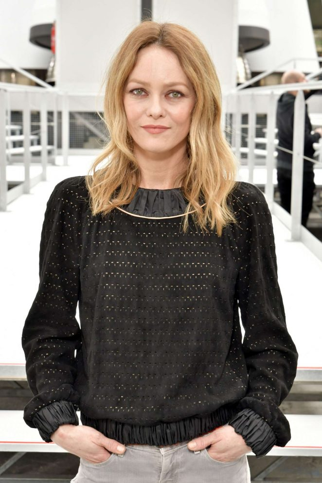 Vanessa Paradis - Chanel Show at 2017 PFW in Paris