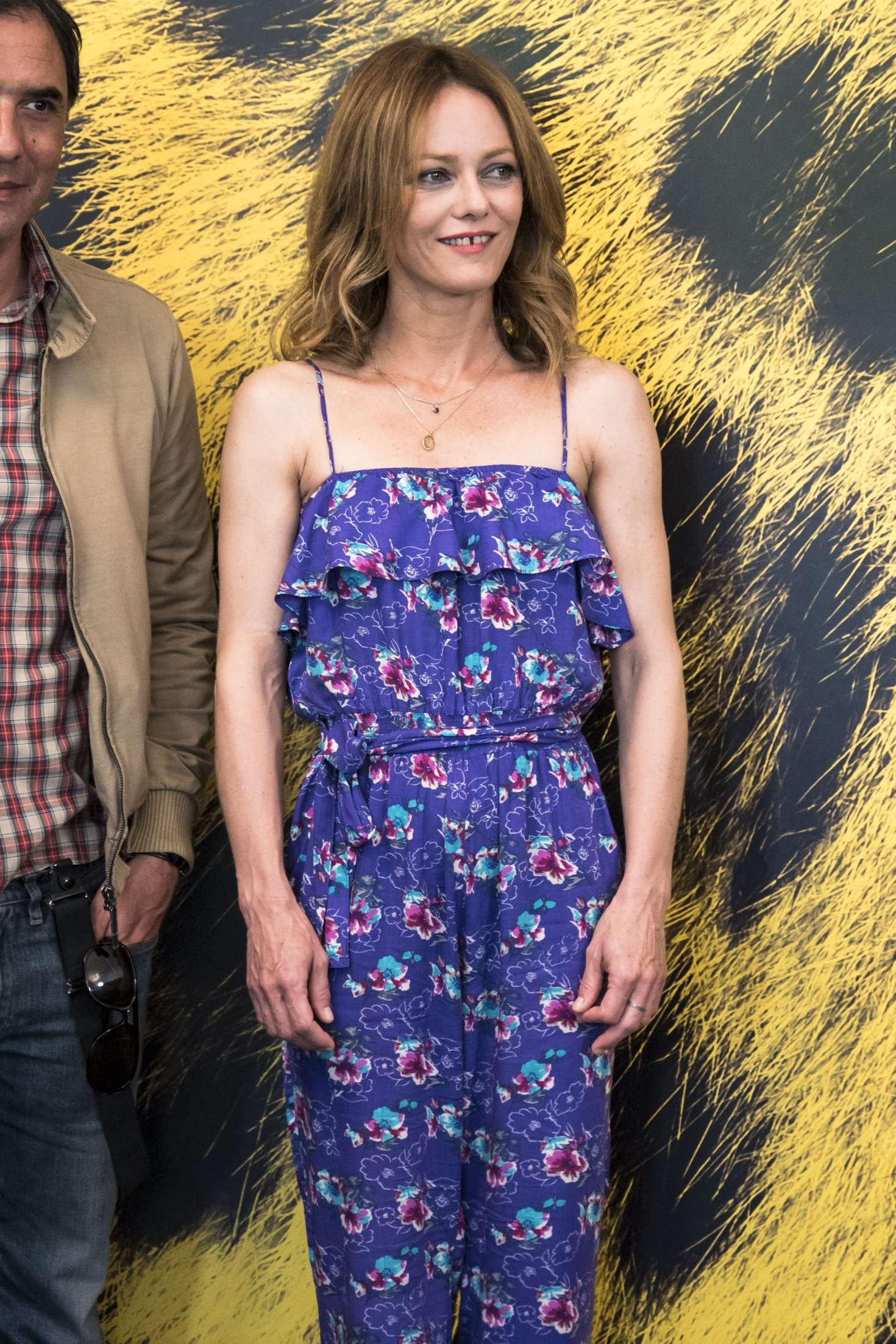 Vanessa Paradis - 'Chien' Photocall at 70th Locarno Film Festival in Switzerland