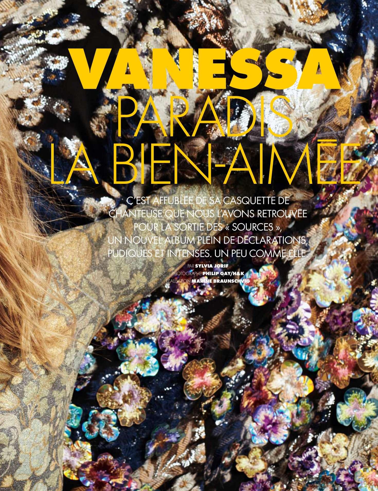 Vanessa Paradis 2018 : Vanessa Paradis: Elle France 2018 -06