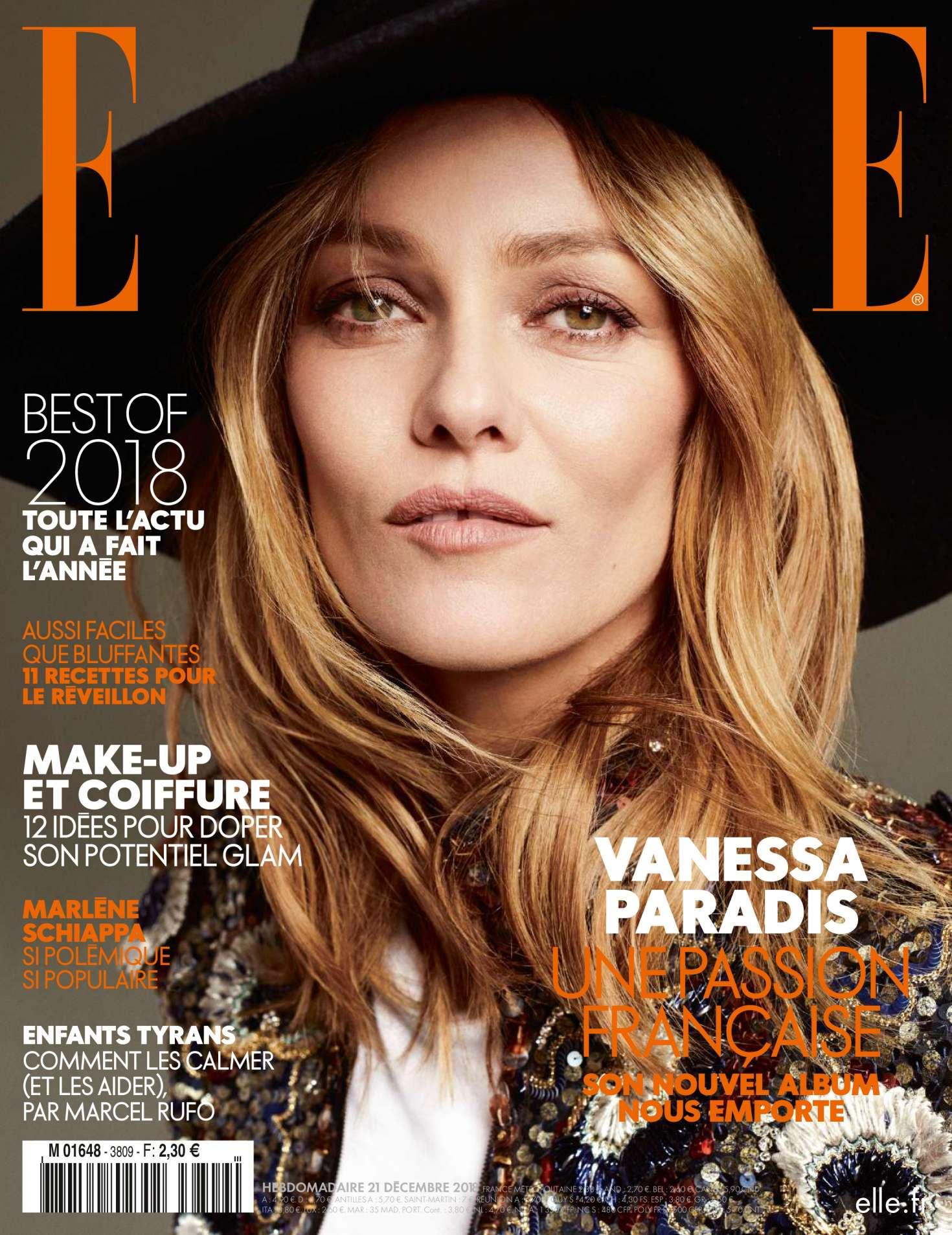 Vanessa Paradis 2018 : Vanessa Paradis: Elle France 2018 -08