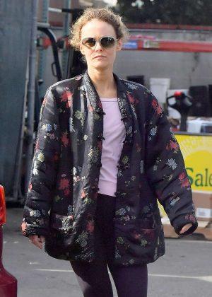 Vanessa Paradis - Leaving Whole Foods in Studio City