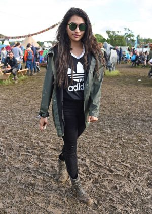 Vanessa White - 2016 Glastonbury Festival Day 1 in England