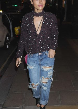 Vanessa White at Philipp Plein Flagship Store Launch in London