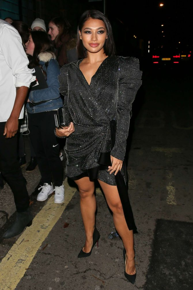 Vanessa White at Vogue and Tiffany & Co Fashion and Movie Party in London