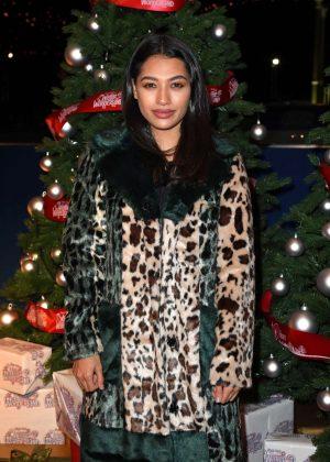 Vanessa White - Hyde Park Winter Wonderland VIP Launch in London