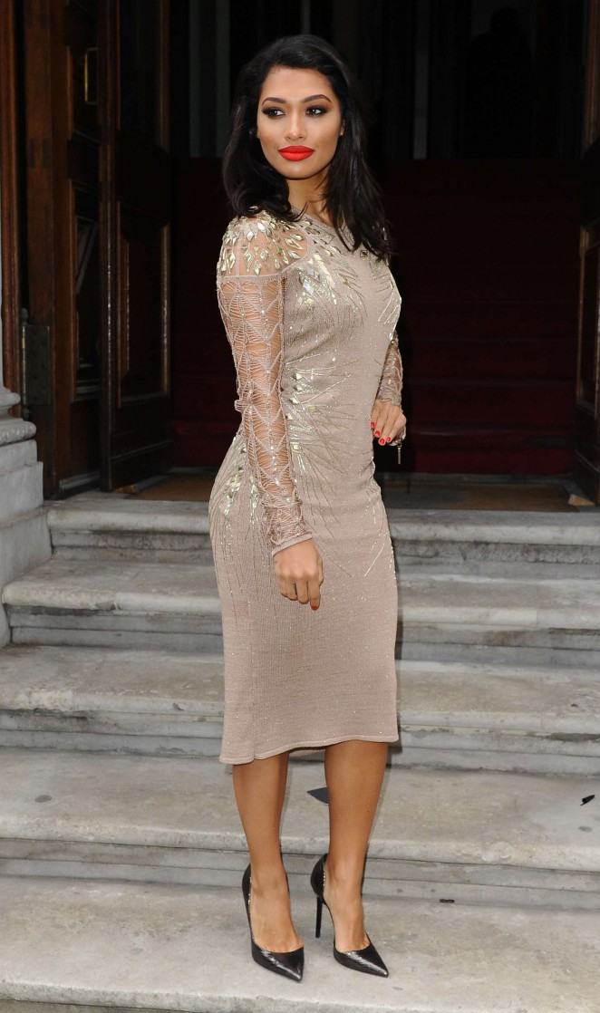 Vanessa White - Julien Macdonald Fashion Show 2015 in London