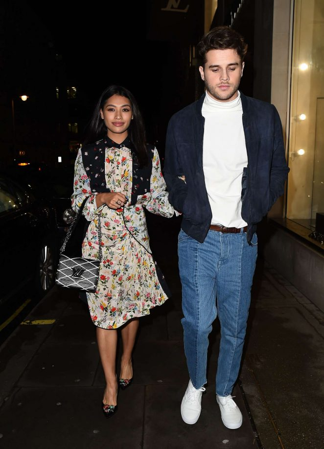 Vanessa White - Louis Vuitton MakeAPromise Day Event in London