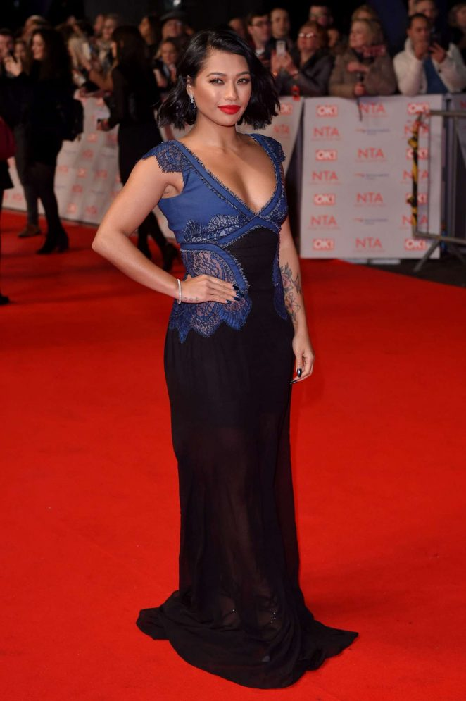 Vanessa White: National Television Awards 2018 -02