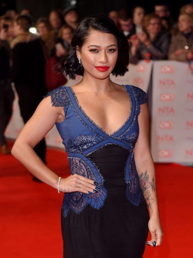 Vanessa White - National Television Awards 2018 in London