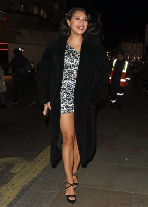 Vanessa White - Night Out at Disco 54 Club in London