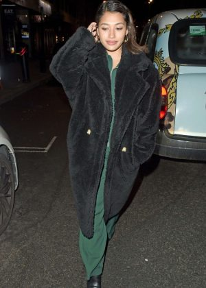 Vanessa White - Night out in London
