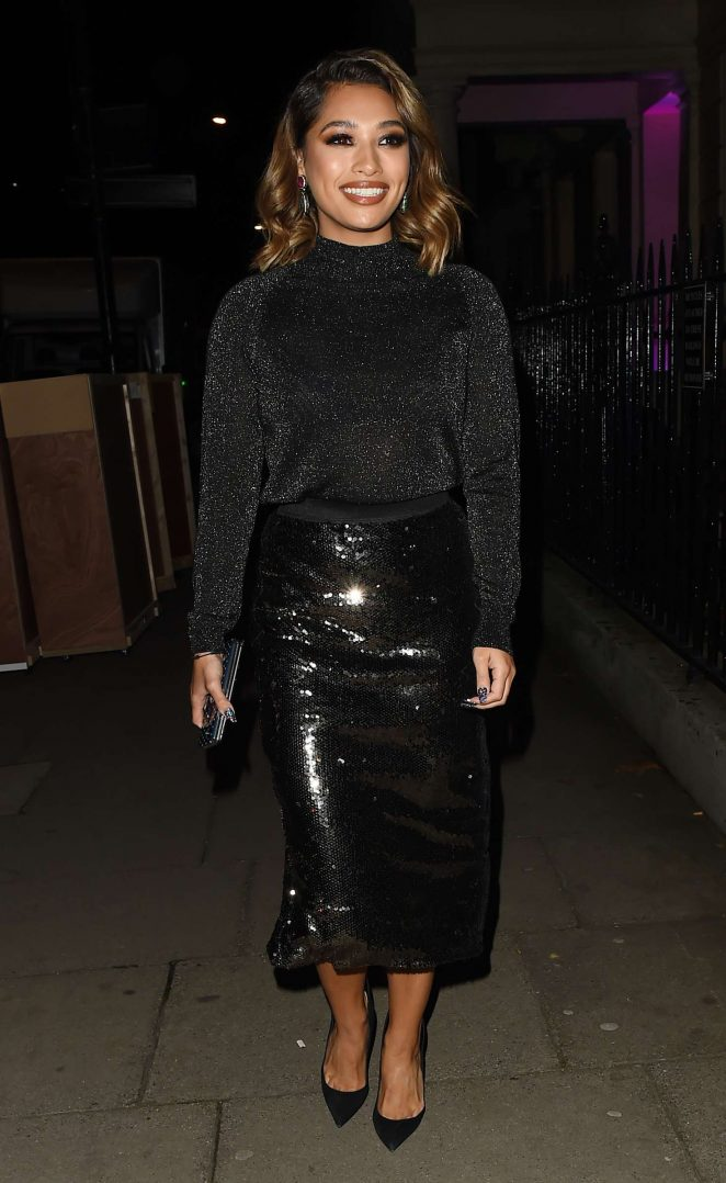 Vanessa White – Night Out in Mayfair