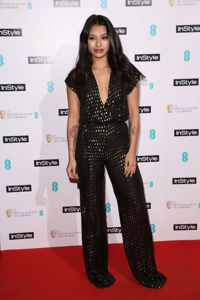 Vanessa White - The InStyle EE Rising Star Awards Party ...