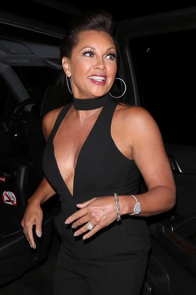 Vanessa Williams at Catch LA in West Hollywood