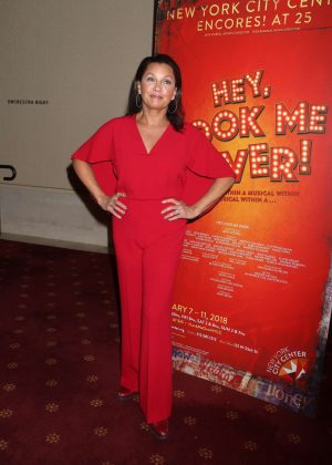 Vanessa Williams - Closing Night Party for Encores Hey, Look Me Over! in NY