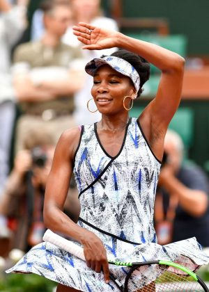 Venus Williams - 2017 French Open at Roland Garros in Paris