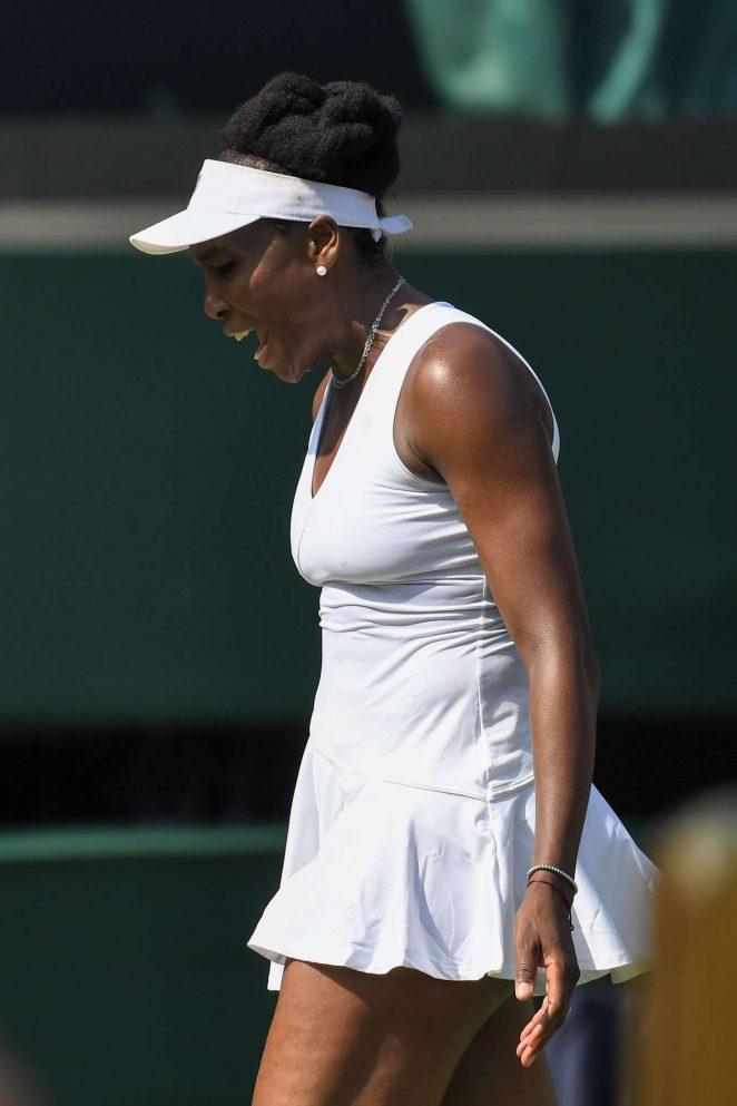 Venus Williams - 2018 Wimbledon Tennis Championships in London Day 5