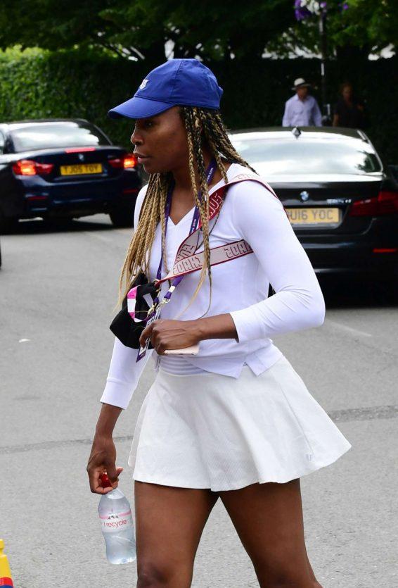 Venus Williams - Arrives at 2019 Wimbledon Tennis Championships in London