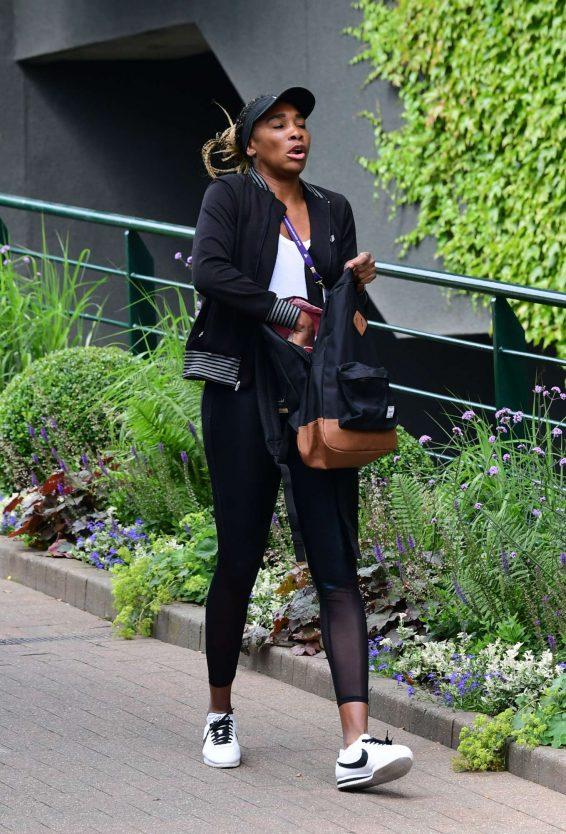 Venus Williams - Attending The Wimbledon Tennis Championships 2019 in London