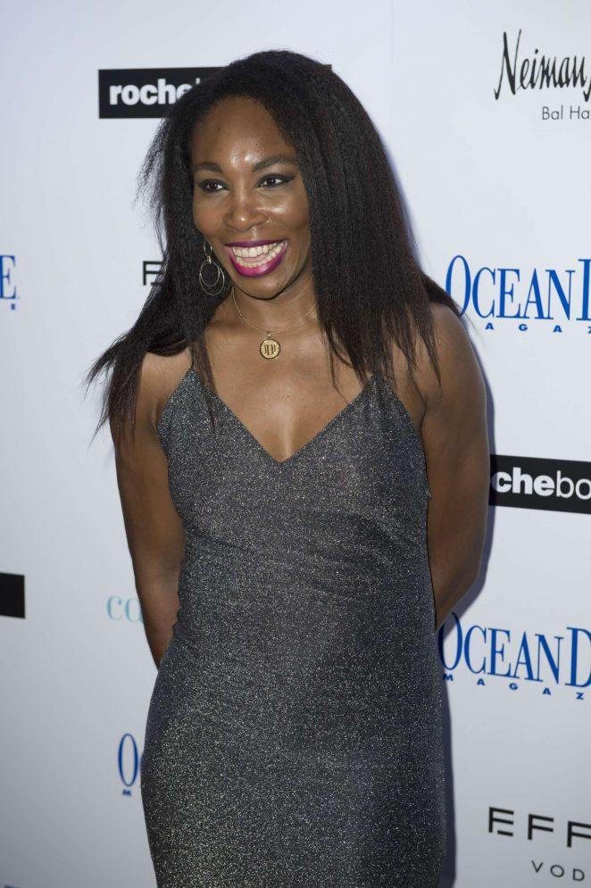 Venus Williams - Ocean Drive Magazine December Cover Party in Miami