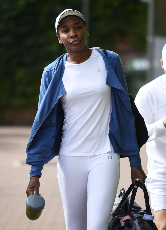 Venus Williams: Spotted in All England Tennis Club Wimbledon -05