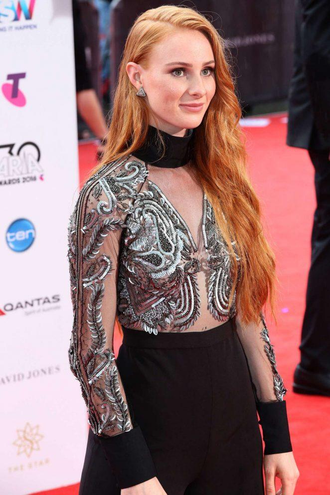 Vera Blue - 2016 ARIA Awards in Sydney