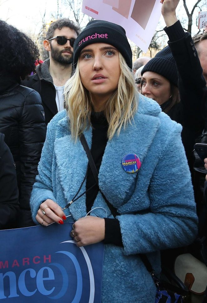 Veronica Dunne - 2018 Women's March in New York