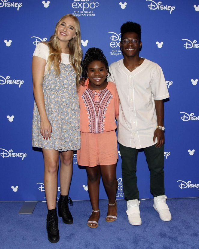Veronica Dunne – Disney's D23 EXPO 2017 in Anaheim