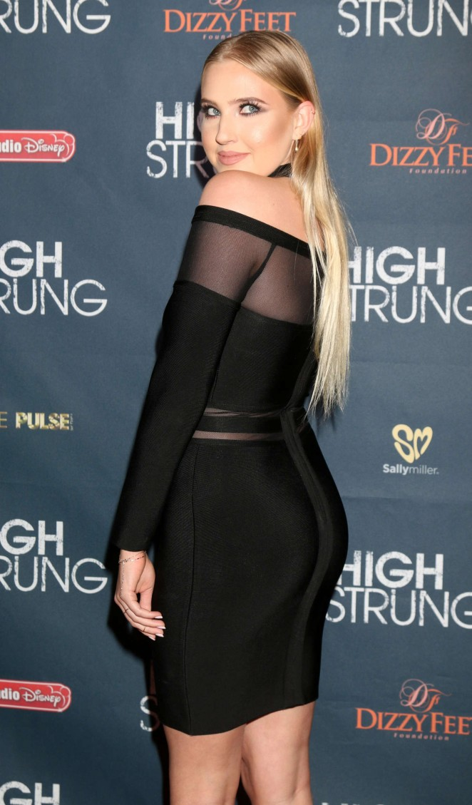 Veronica Dunne – 'High Strung' Premiere in Los Angeles