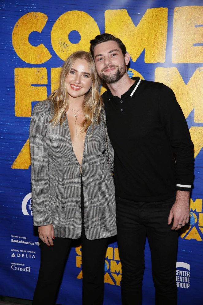 Veronica Dunne – Opening night performance of 'Come From Away' in Los Angeles