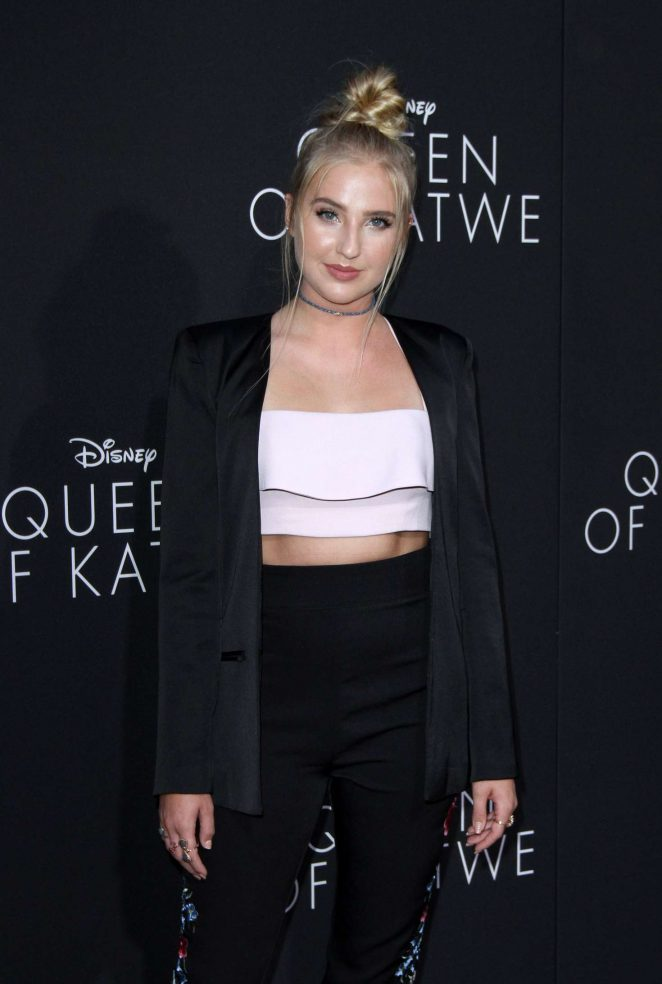 Veronica Dunne - 'Queen of Katwe' Premiere in Los Angeles