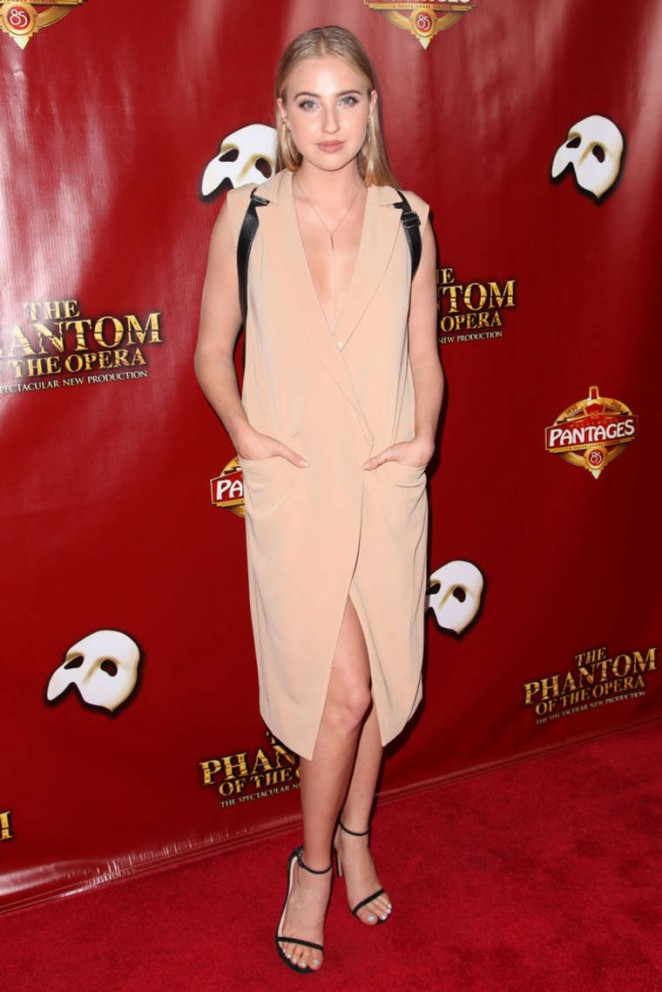 Veronica Dunne – 'The Phantom of the Opera' Los Angeles Opening Night in Hollywood