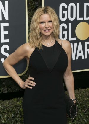 Veronica Ferres - 2018 Golden Globe Awards in Beverly Hills
