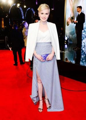 "Veronica Roth - ""Insurgent"" Premiere in London"