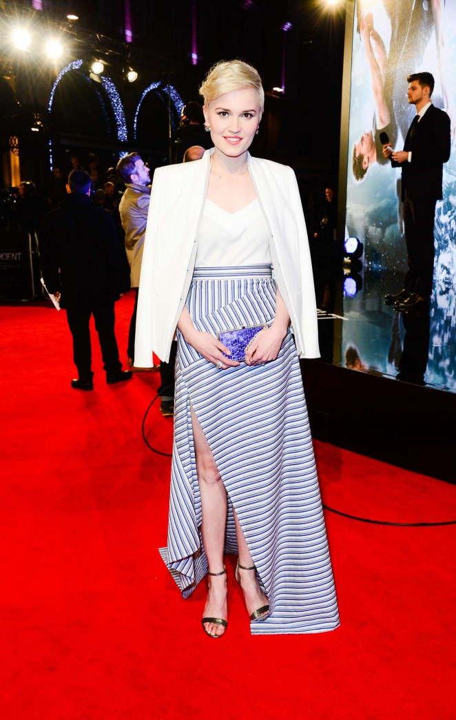 "Veronica Roth - ""Insurgent"" Premiere in London"