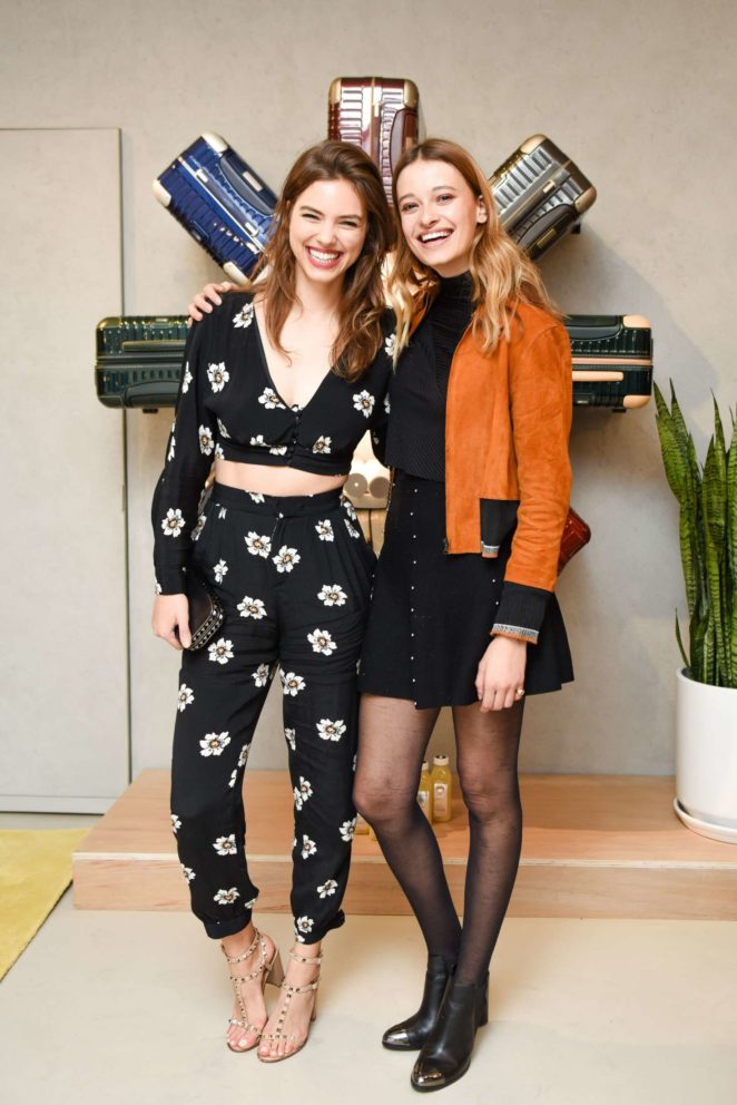 Veronica Zoppolo and Jade De Lavareille - Rimowa x Alexandre Arnault Pop-Up Event in LA