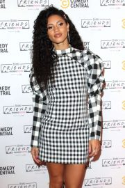Vick Hope - Comedy Central Friends Festive Exhibition Launch in London