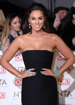 Vicky Pattison - 2017 National Television Awards in London