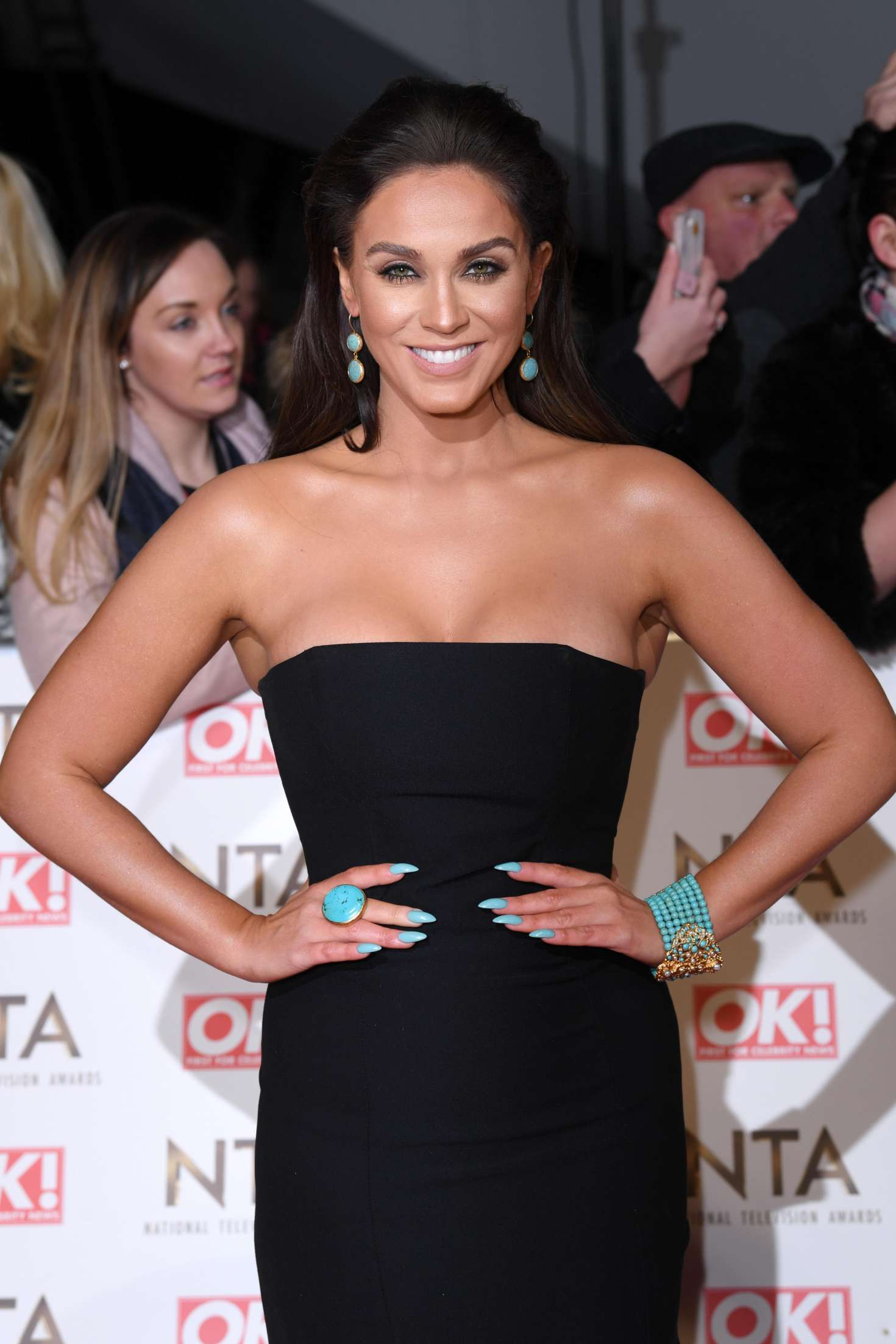 Vicky Pattison – 2017 National Television Awards in London   Vicky-Pattison:-2017-National-Television-Awards--02