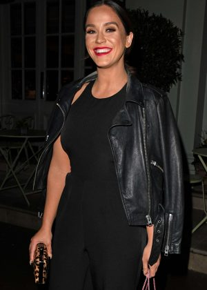 Vicky Pattison - Arriving at the Charlotte St Hotel in London
