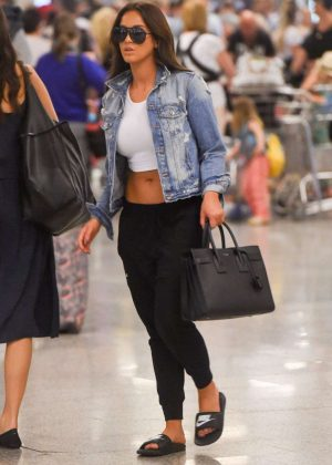 Vicky Pattison at Airport in Palma De Majorka