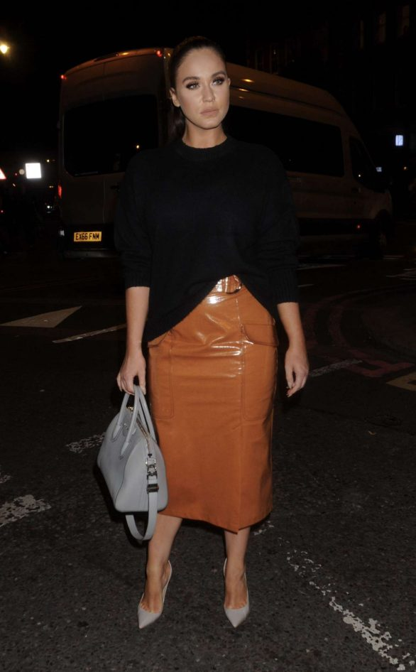 Vicky Pattison - Attends Exempt London Fashion Week Party in London